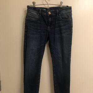 Toothpick skinny size 0 Petite jeans denim KUT